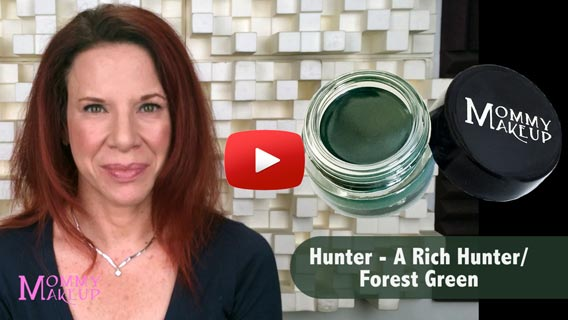 Waterproof Stay Put Gel Eyeliner in Hunter Video